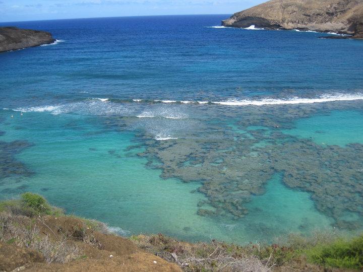 Hanauma Bay - great for snorkeling! -Oahu, HI 2010